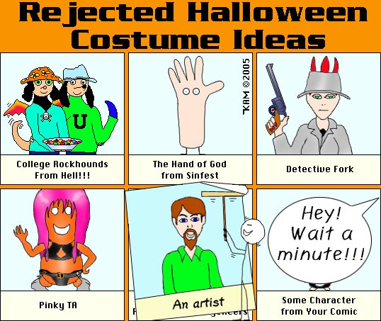 Rejected Costumes