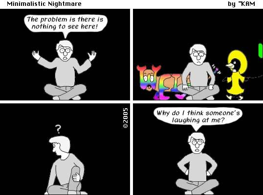 Minimalistic Nightmare 9