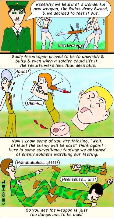 Swiss Army Sword