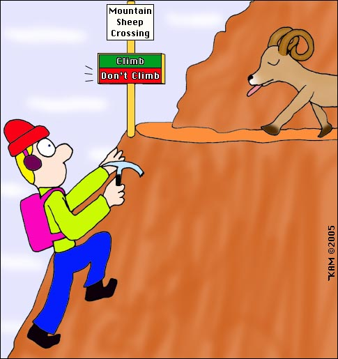 Don't Climb