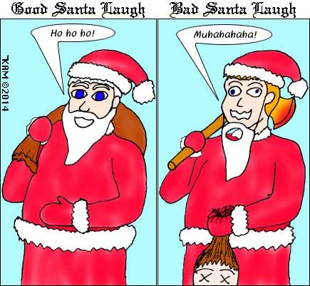 Santa Laugh